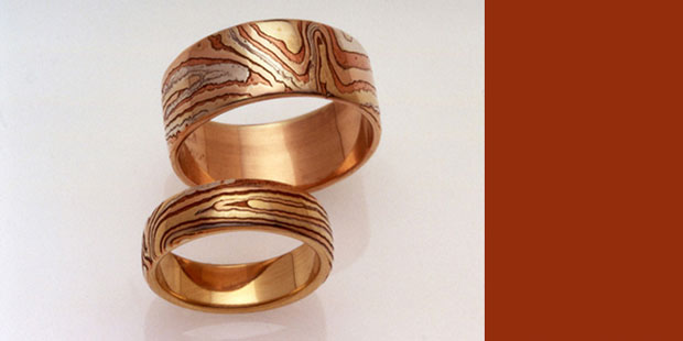 first generation mokume rings